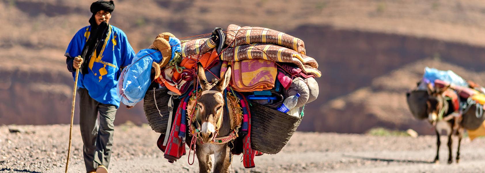 Single Reis Marokko | Wandelvakantie Atlasgebergte